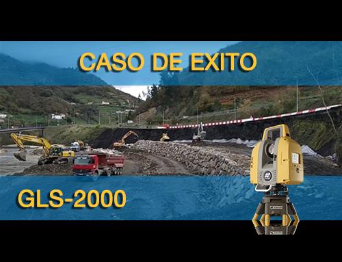 Caso de éxito, laser escáner GLS-2000 en la reconstrucción de una ladera.