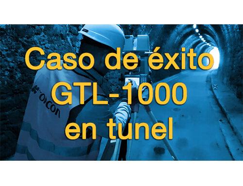 Caso de éxito, GTL-1000 en obra de túnel.